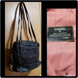 e8732bb73162 シャネル(CHANEL)のCHANELココマークチャーム ヴィンテージ ショルダーバッグ (ショルダーバッグ)