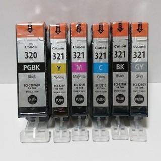 キヤノン(Canon)のCanon純正インク 320 321 6色セット(PC周辺機器)