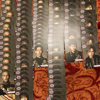 サンダイメジェイソウルブラザーズ(三代目 J Soul Brothers)のローソンスピードくじ★フォトカード106枚(アイドルグッズ)