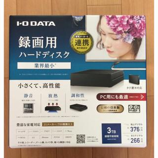 アイオーデータ(IODATA)のHDCZ-UT3KC ブラック HDD:3TB【新品】(PC周辺機器)
