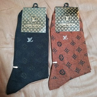 ルイヴィトン(LOUIS VUITTON)の【新品】LOUIS VUITTON 靴下 ソックス 2着セット【メンズ】(ソックス)