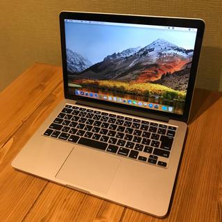 アップル(Apple)の022 Macbook pro retinaモデル late2013 格安(ノートPC)