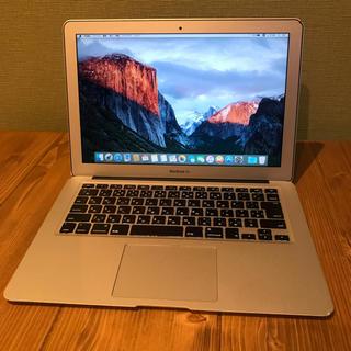 アップル(Apple)の019 Macbook Air 13inch カスタマイズオーダーモデル(ノートPC)