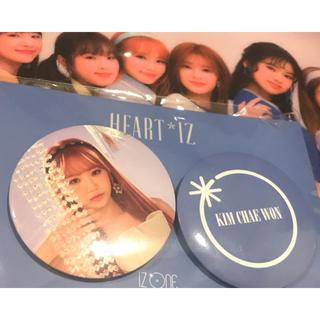韓国限定 チェウォン 缶バッチ IZ*ONE(アイドルグッズ)
