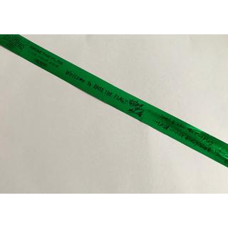 サンダイメジェイソウルブラザーズ(三代目 J Soul Brothers)の三代目 RAISE THE FLAG 緑テープ(ロゴ~7人分 ワンカット)(ミュージシャン)