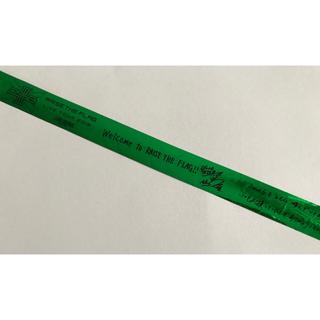 サンダイメジェイソウルブラザーズ(三代目 J Soul Brothers)のRAISE THE FLAG 緑テープ(ロゴ~7人分 ワンカット)(ミュージシャン)