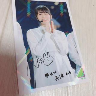 欅坂46 長濱ねる シークレットレア(アイドルグッズ)