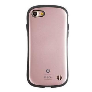 アイフォーン(iPhone)のiface ローズゴールド iPhone7.8 パール ピンク 美品(iPhoneケース)