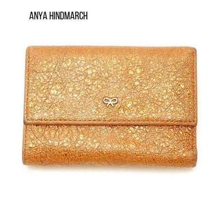 アニヤハインドマーチ(ANYA HINDMARCH)のANYA HINDMARCH(アニヤハインドマーチ)の古着「3つ折り財布(財布)(財布)