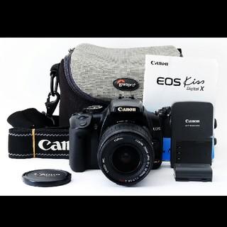 キヤノン(Canon)のキャノン Canon Kiss digital X レンズセット#430977(デジタル一眼)