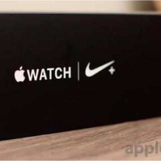 アップルウォッチ(Apple Watch)のApple Watch4Nike+ アンスラサイトブラックバンド 40mm(その他)