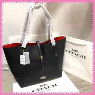 【新品】COACH 正規品 黒 大人気 ハンドバッグ