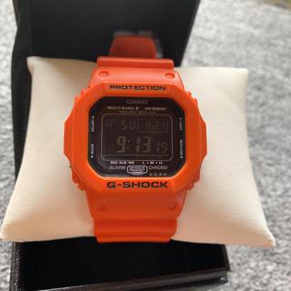ジーショック(G-SHOCK)のG-SHOCK 電波 ソーラー オレンジ 救急レスキュー限定モデル(腕時計(デジタル))