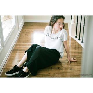 キャサリンコテージ(Catherine Cottage)の値下げ中!子供服 半袖 おしゃれ薄手Tシャツ ホワイト&ネイビー 110-130(Tシャツ/カットソー)
