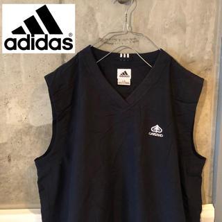 アディダス(adidas)の【80's 90's古着】アディダス adidas ノースリーブプルオーバー(Tシャツ/カットソー(半袖/袖なし))