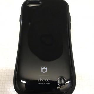 アイフォーン(iPhone)のiFace iPhone8 対応(黒)スマートフォンケース(iPhoneケース)