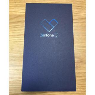 アンドロイド(ANDROID)の【新品未開封】Zenfone5 ZE620KL(スマートフォン本体)