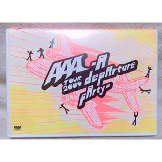 AAA depArture party LIVE DVD