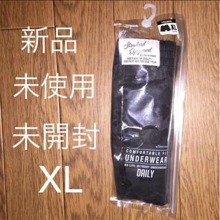 送料込み 新品 未使用 未開封 下着 迷彩柄 黒 XL 綿100%