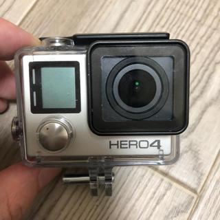 ゴープロ(GoPro)のGopro HERO4 silver(ビデオカメラ)