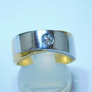 K18Pt    ダイヤ  0.23ct   リング(リング(指輪))