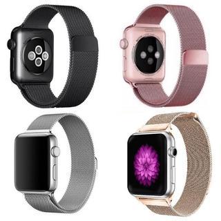 アップルウォッチ(Apple Watch)のapple watch ミラネーゼループバンド(金属ベルト)