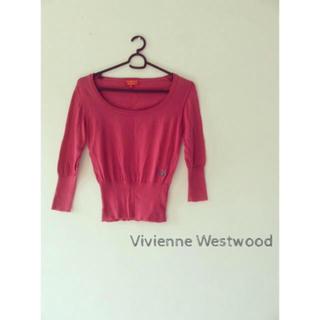 ヴィヴィアンウエストウッド(Vivienne Westwood)の美品 ヴィヴィアンウエストウッド レッドレーベル ニット カットソー (カットソー(長袖/七分))