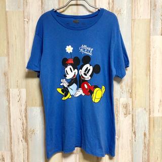 ディズニー(Disney)の【送料無料】【フォロー割】アメリカ古着 ミッキーミニーDisney Mickey(Tシャツ/カットソー(半袖/袖なし))