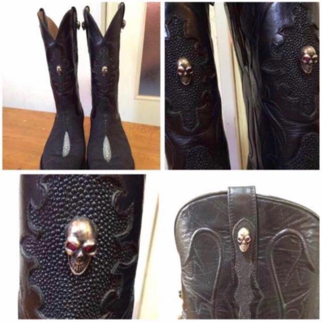 Tony Lama(トニーラマ)の【激レア】BLACKJACK ブラックジャック ウエスタンブーツ DIABOLO メンズの靴/シューズ(ブーツ)の商品写真
