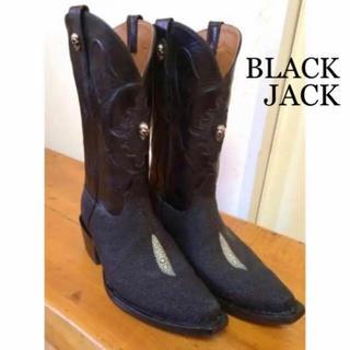 トニーラマ(Tony Lama)の【激レア】BLACKJACK ブラックジャック ウエスタンブーツ DIABOLO(ブーツ)