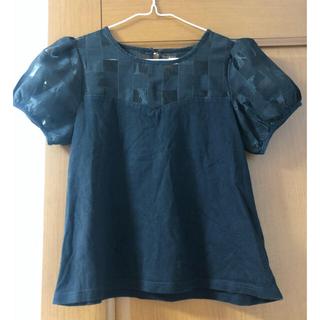 ティティアンドコー(titty&co)のシースルー半袖トップス(Tシャツ(半袖/袖なし))