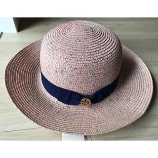タグ付き新品 半額 2019 Tory Burch 新作 リボン付き帽子 ピンク