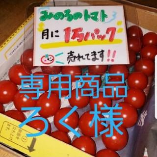 ろく様専用 みのるのプチトマト(野菜)