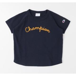 ドアーズ(DOORS / URBAN RESEARCH)のUR DOORS / Champion×DOORSチェーン刺繍Tシャツ・105㎝(Tシャツ/カットソー)
