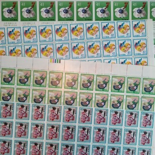 【額面割】41円、60円、62円切手