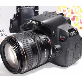 キヤノン(Canon)の❤️自撮り、Wi-Fi機能つき❤️EOS Kiss X6i レンズキット♫(デジタル一眼)