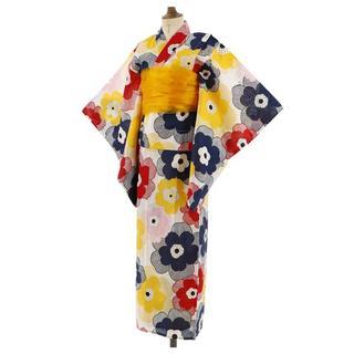 キャサリンコテージ(Catherine Cottage)のキャサリンコテージ 浴衣3点セット 130サイズ 定価4380円(甚平/浴衣)
