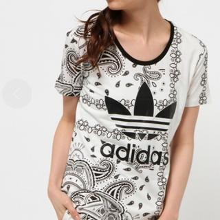 アディダス(adidas)のadidas Originals Tシャツ ペイズリー柄(Tシャツ/カットソー(半袖/袖なし))