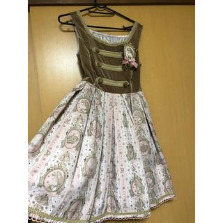 アンジェリックプリティー(Angelic Pretty)のAngelic Pretty ゴブラン ジャンパースカート(ひざ丈ワンピース)