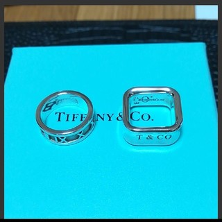 ティファニー(Tiffany & Co.)のティファニー アトラスと1837 ナローリングセット(リング(指輪))