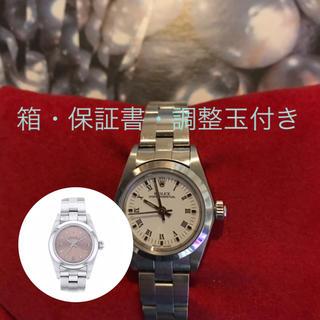 ロレックス(ROLEX)のロレックス♡オイスターパーペチュアル文字盤着せ替え可能♫(腕時計)
