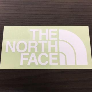 ザノースフェイス(THE NORTH FACE)の【縦7cm横14cm】THE NORTH FACEカッティングステッカー(ステッカー)