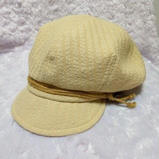 キャスケット 帽子 レディース