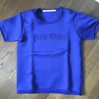 フェリシモ(FELISSIMO)のFELISSIMO  SHE THROUGH SEA  Tシャツ(Tシャツ(半袖/袖なし))