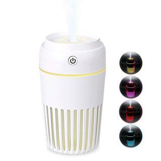 ★格安セール★ 加湿器 ディフューザー 卓上 7色変換LED(加湿器/除湿機)