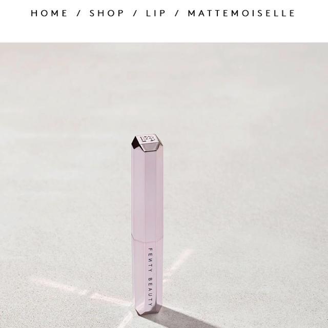 Sephora(セフォラ)のフェンティビューティー パンプキンローズ コスメ/美容のベースメイク/化粧品(口紅)の商品写真