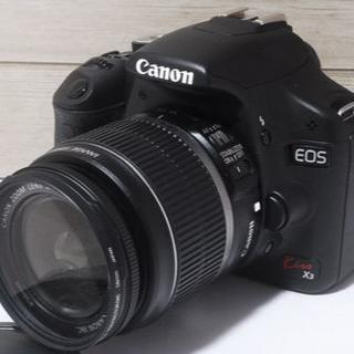 キヤノン(Canon)の動画撮影★Wi-Fi&手振れ補正 Canon kiss x3 セット(40)(デジタル一眼)