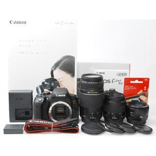 キヤノン(Canon)の★Canon EOS Kiss X9i トリプルレンズセット(デジタル一眼)