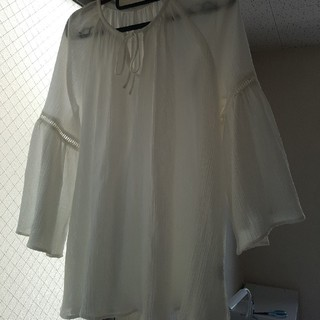 ジーユー(GU)のカフタンブラウス(7分袖)(シャツ/ブラウス(長袖/七分))