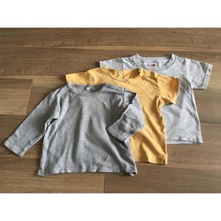 ムジルシリョウヒン(MUJI (無印良品))のTシャツ (無印良品、FRUIT OF THE LOOM)(Tシャツ/カットソー)